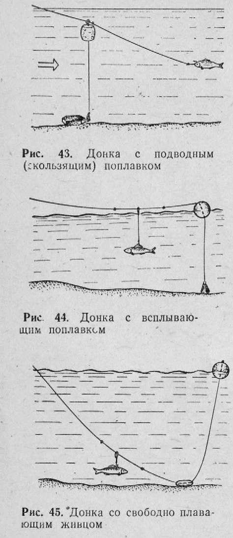 донная ловля ловушки рыбалка
